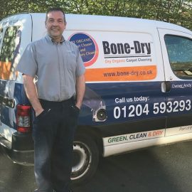 Andy Hicks.  Bolton and Bury Carpet and Upholstery Cleaner. 01204 593293